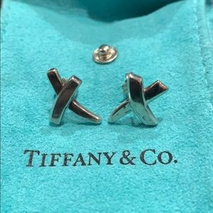 Tiffany & Co Graffiti X Kiss Earrings